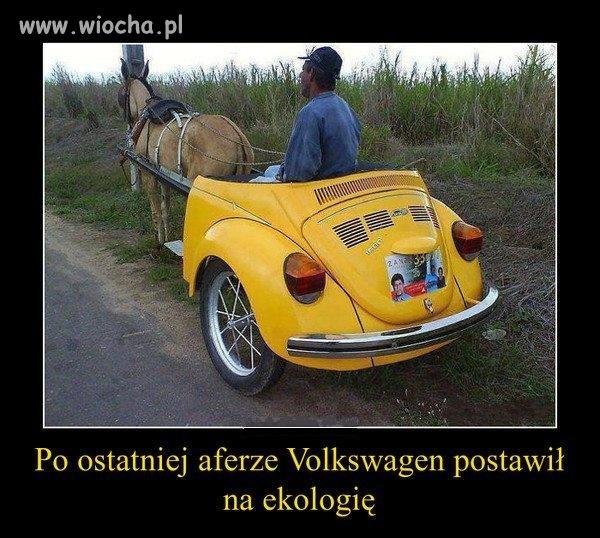 Volkswagen stawia na ekologie