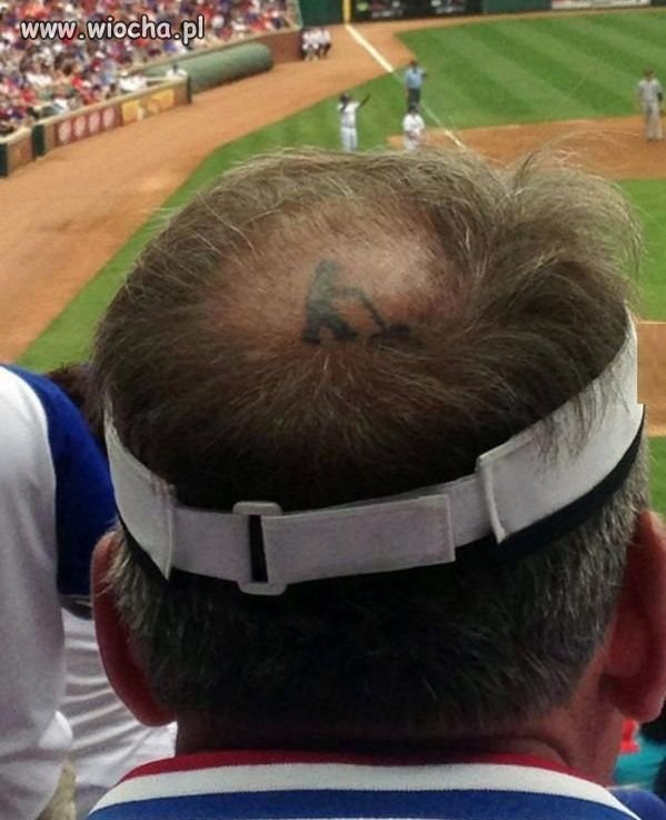 Twórczy tatuaż.