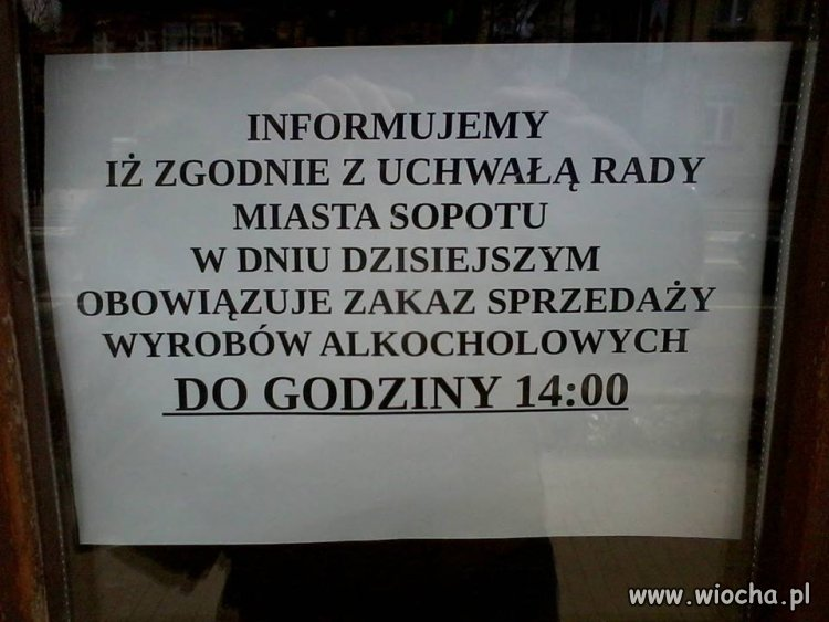 A w Sopocie