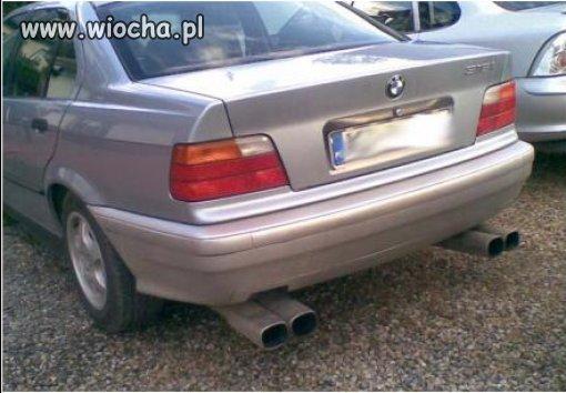 BMW inspirowanie kogutem