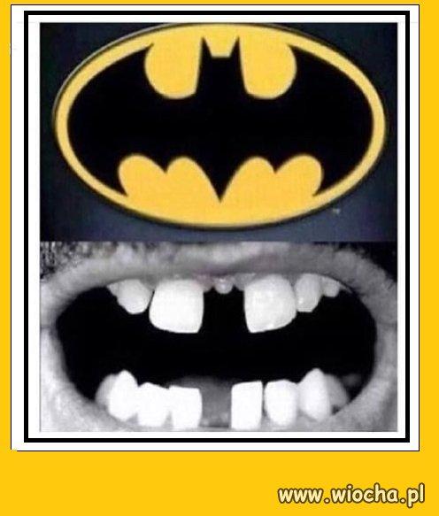 Uśmiech Batmana...