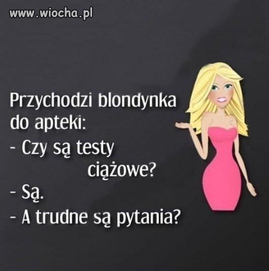 Blondynka...