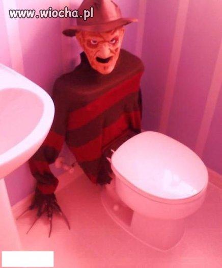 Toaleta w poczekalni u mojego ulubionego doktora.