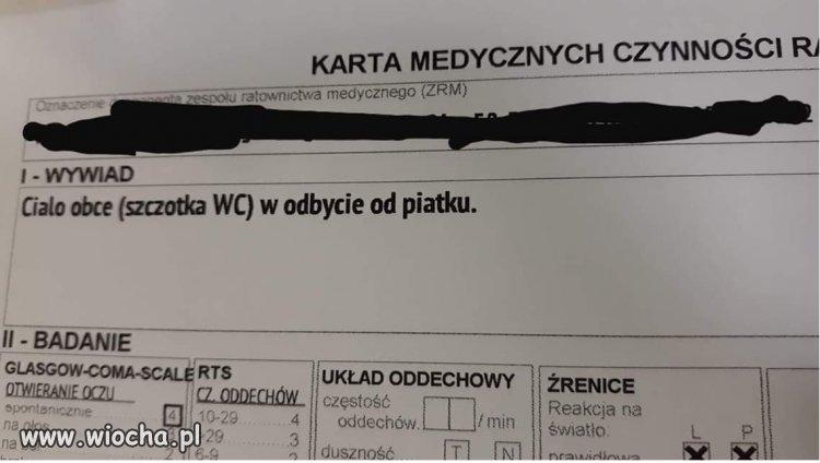 Nietypowy  pacjent