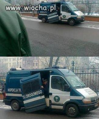 Inspekcja ruchu drogowego