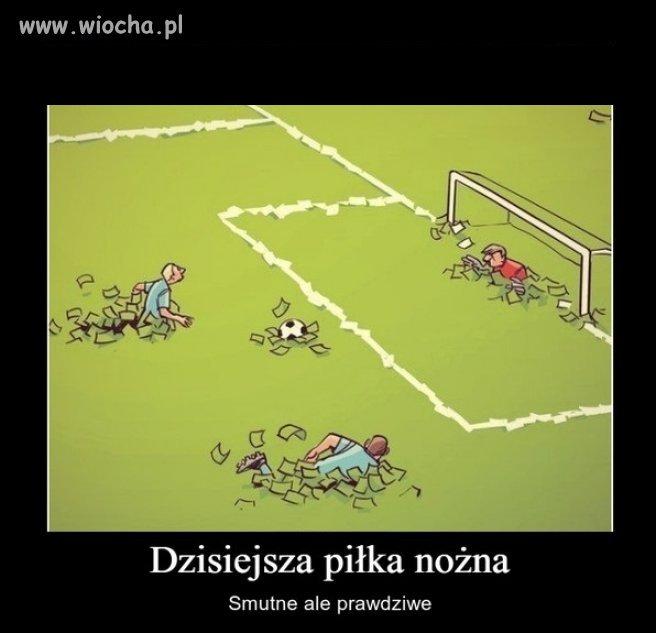 Dzisiejsza piłka nożna