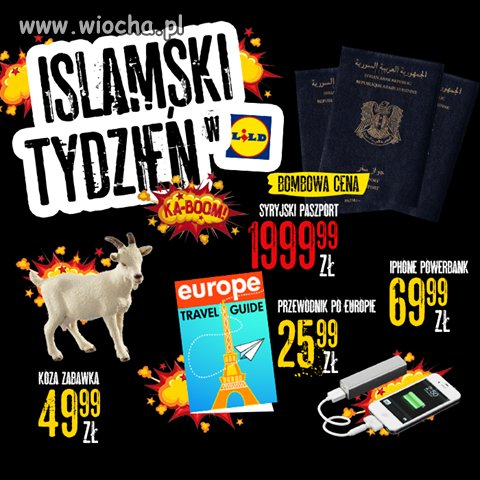 Islamski tydzien w Lidlu