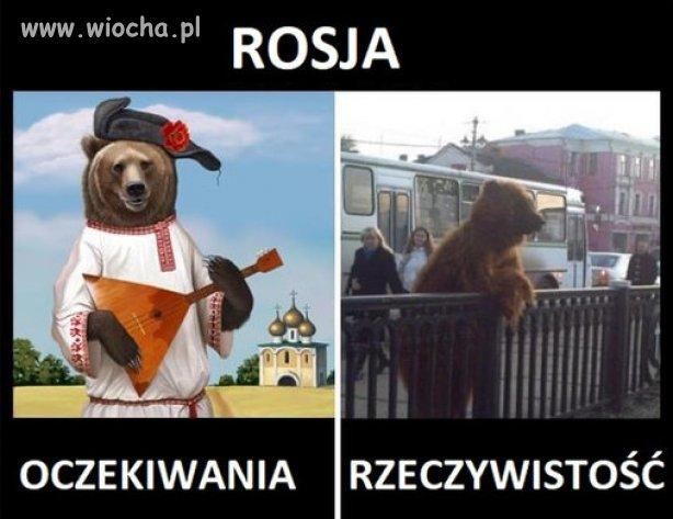 Rosja...oczekiwania i rzeczywistosc.