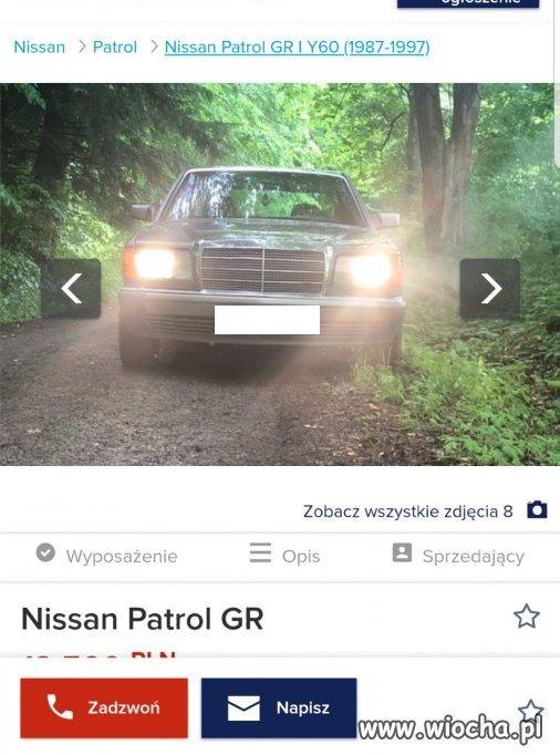 Nissan z Podkarpacia