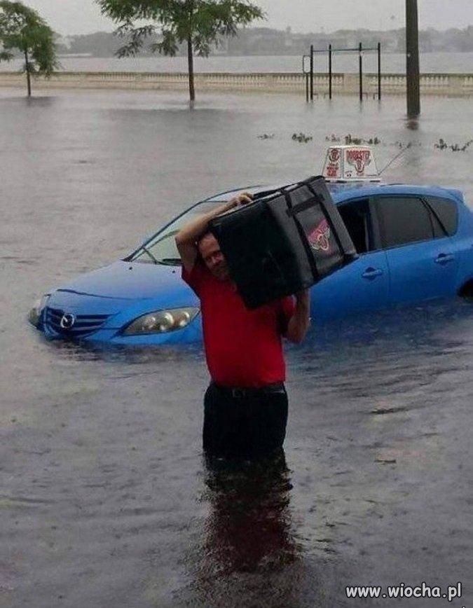 Co tam powódź panie...