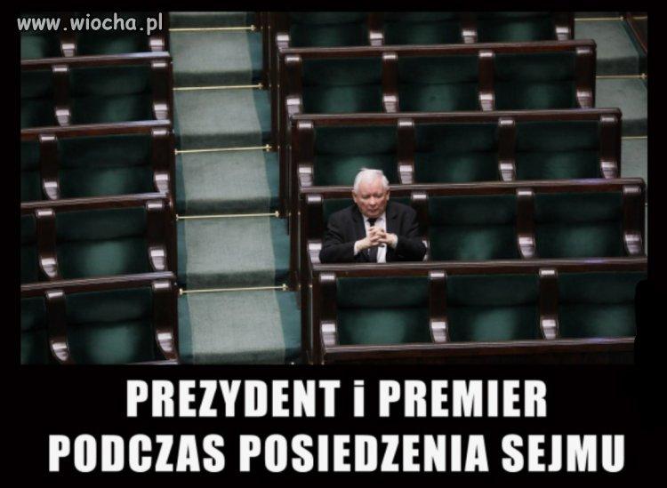 Prezydent i premier...