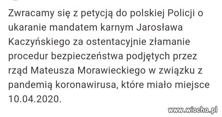 Petycja do Polskiej Policji