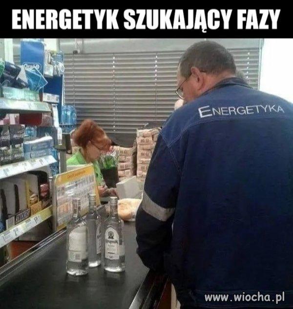Energetyk szuka