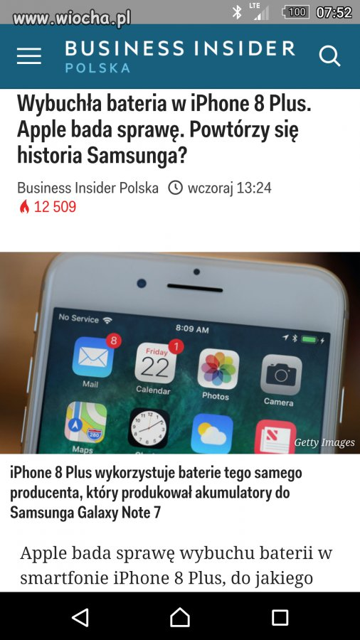 Czy to Samsung czy iPhone