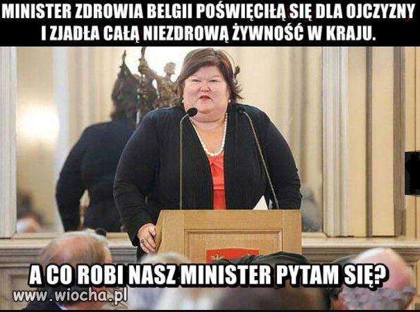 Minister zdrowia.