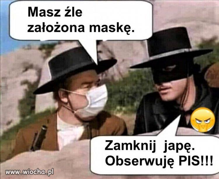 Maski... maski... i maseczki...