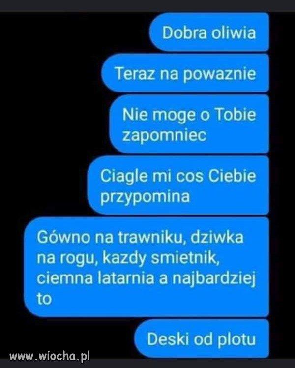 Dobra, Oliwia...
