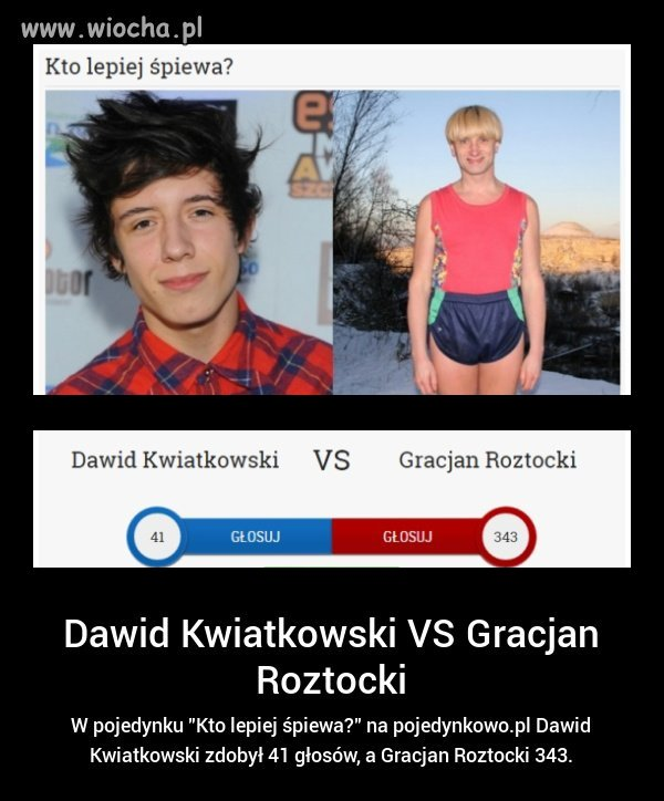 Gracjan vs Dawid