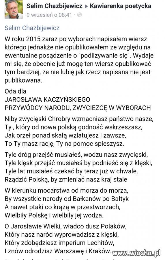 Oda Do Jarosława Kaczyńskiego Wiochapl Absurd 1379965