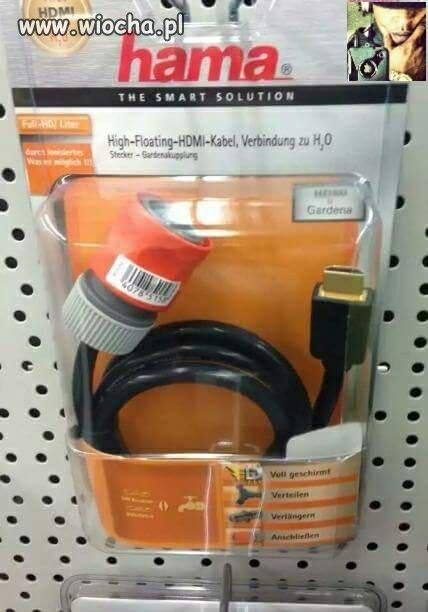 Kabel hdmi - woda
