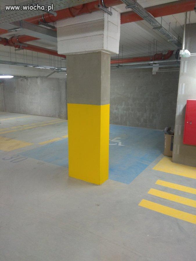 Trzeba być niezwykle sprawnym aby zaparkować