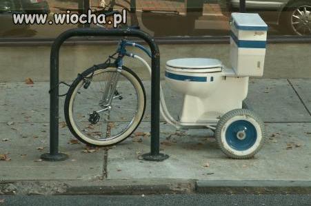 Podrasowany rower