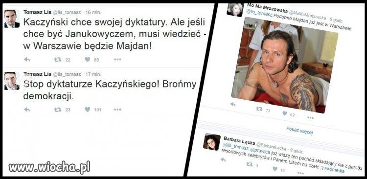 Tomcio chce Majdanu w Warszawie