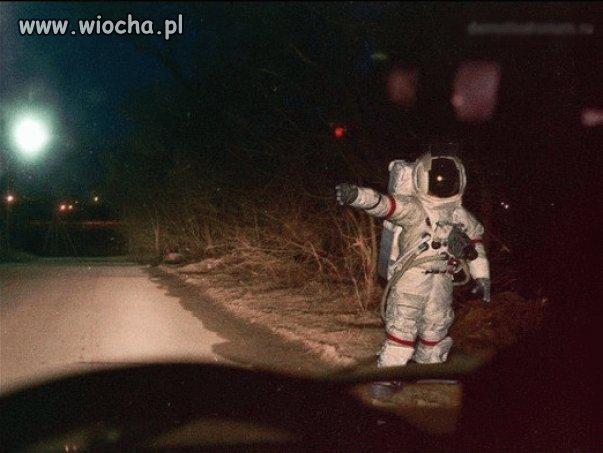 Kiedy spóźniasz się na start rakiety