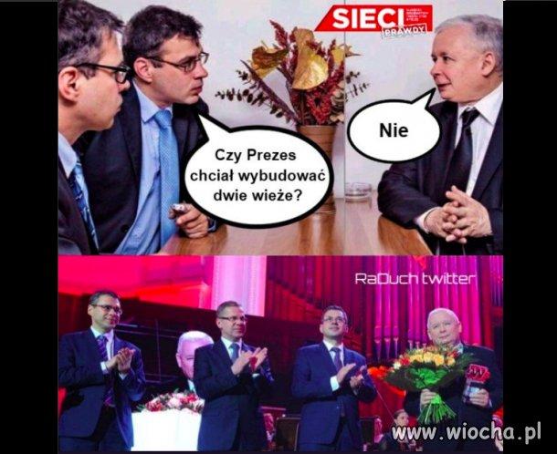 Wywiad z Kaczyńskiem