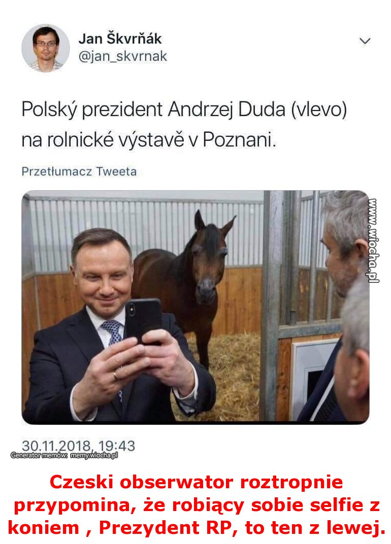 Czeski obserwator roztropnie przypomina, że