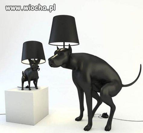 Bardzo stylowa lampa