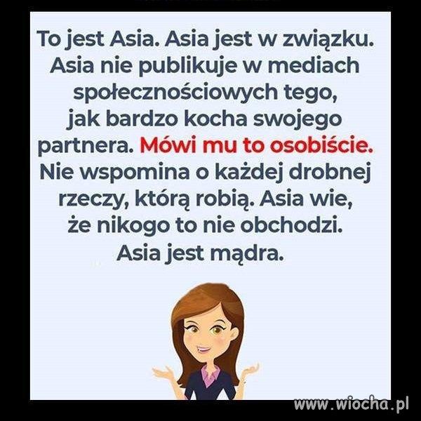 Bądź jak Asia