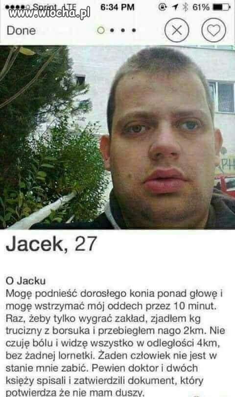 Jak tu nie zakochać się w Jacku?