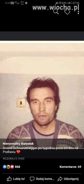 Arnold na Podlasiu