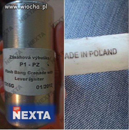 Czeskie wybuszki i polskie naboje do strzelb