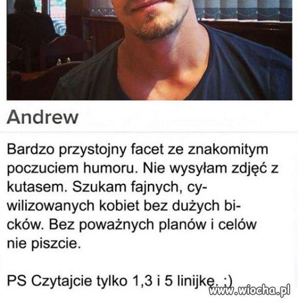 Andrew...