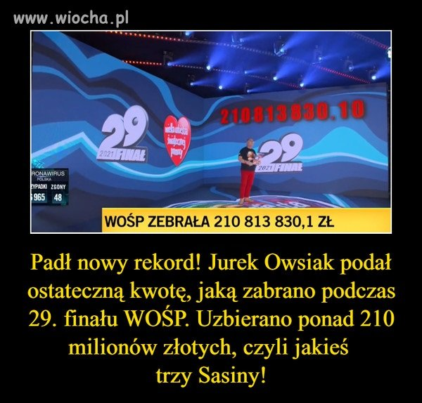 Mamy nowy rekord ...