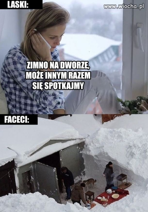 Gdy zimno na dworze