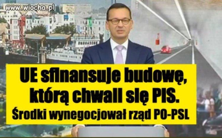 Tunelu w Świnoujściu.