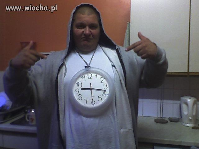 Jest zegar, jest szacun.