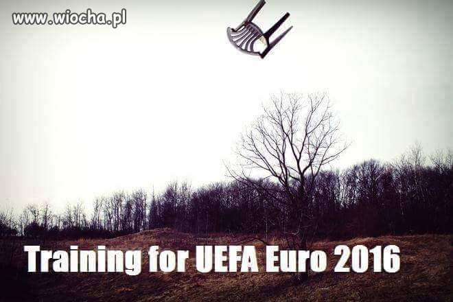 Trening Euro 2016