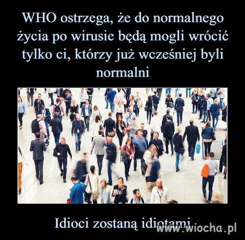 WHO ostrzega