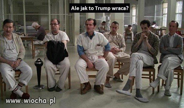 Donald wraca