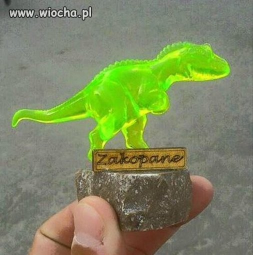 Być w Zakopanem i nie zobaczyć Dinozaura.