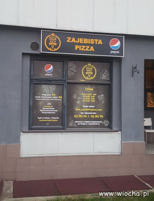 Sosnowiecka pizza