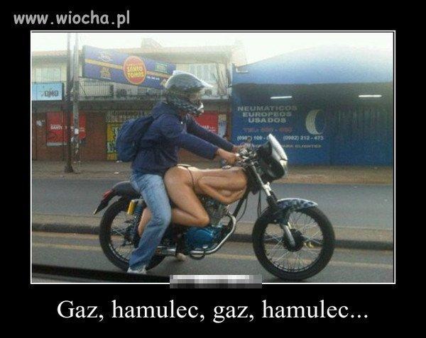 Gaz hamulec