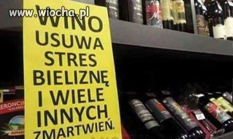 Wino dobre na wszystko