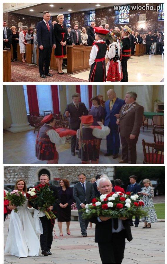 Polska tradycja...dzieci z kwiatami