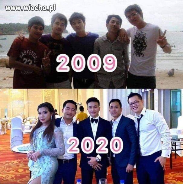 Na przestrzeni lat