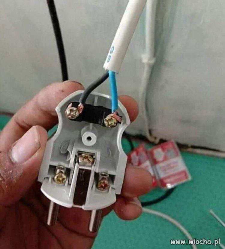 Kiedy szwagier jest elektrykiem.
